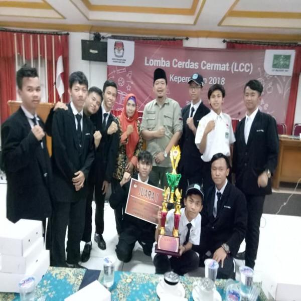 JUARA 1 LCC KPU 2018 TINGKAT JAWA TIMUR