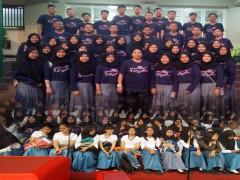 Tim Padus Suara Nusa Kembali Tampil di Grahadi