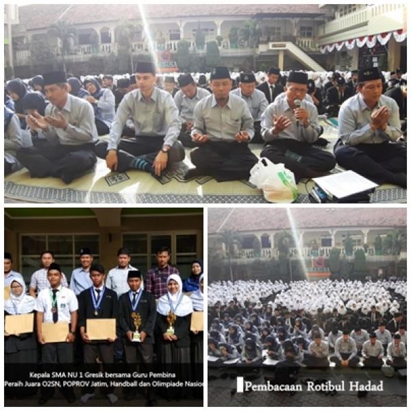 Akhiri tahun Hijriyah,  siswa – siswi SMA NU 1 Gresik sabet prestasi!