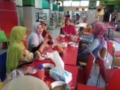 Kunjungan SMA Negeri 1 Gresik - Studi Banding Food Court